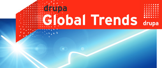Logo drupa Global Trends Report