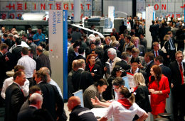 Crowd at drupa 2012